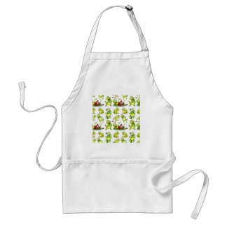 Seamless frog standard apron