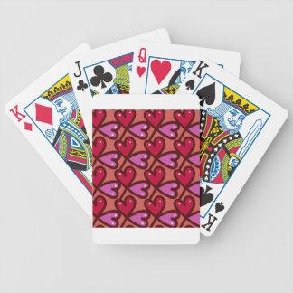 Seamless Hearts #2 Poker Deck