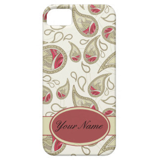Seamless paisley with flower barely there iPhone 5 case