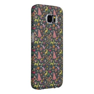 Seamless Patchwork Christmas Pattern Samsung 6Case Samsung Galaxy S6 Cases