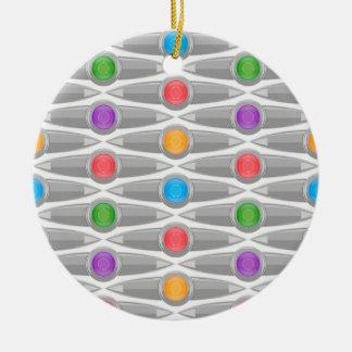seamless-pattern #10 ceramic ornament