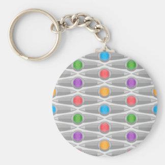 seamless-pattern #10 key ring