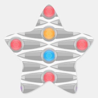 seamless-pattern #10 star sticker