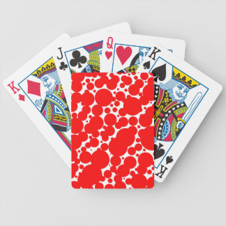 Seamless Pattern Bicycle Playing Cards