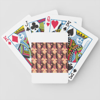 seamless-pattern bicycle playing cards