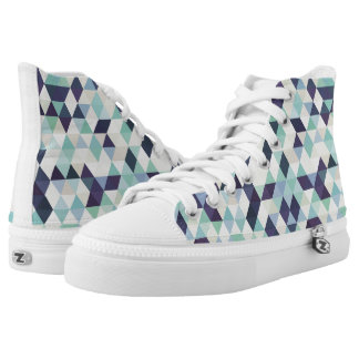 Seamless Pattern - Candy Collage High Tops