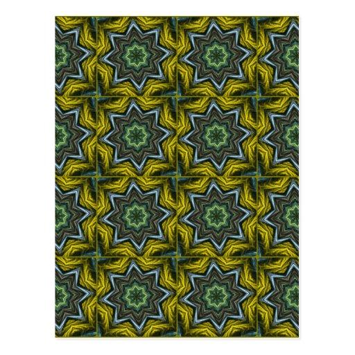 Seamless Pattern Design Postcard