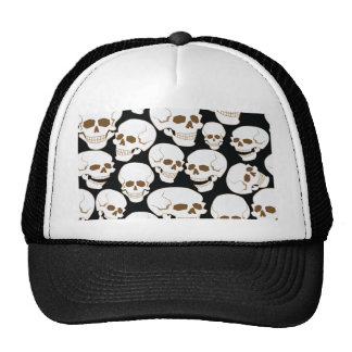 seamless pattern with skulls 3.2 cap