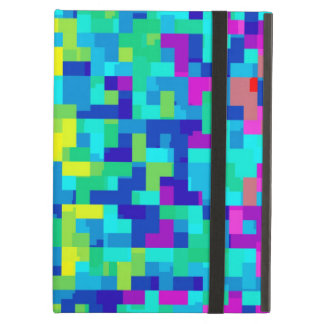 Seamless Pixel Pattern Background as an Artistic iPad Air Case