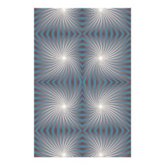 Seamless spiral customized stationery
