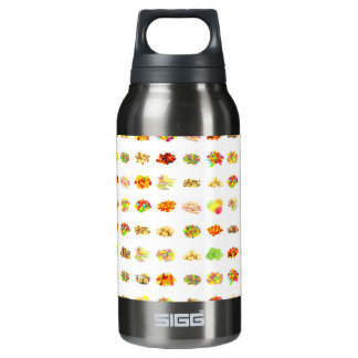 Seamless Sweets and Candy Pattern Background Insulated Water Bottle