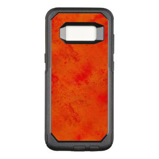 Seamless Texture Background Abstract Orange And OtterBox Commuter Samsung Galaxy S8 Case