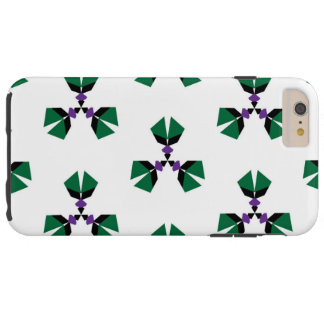 Seamless vector pattern in the style of 80's with tough iPhone 6 plus case