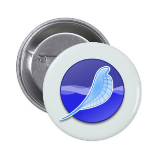 SeaMonkey Logo 6 Cm Round Badge