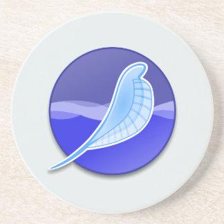 SeaMonkey Logo Beverage Coasters