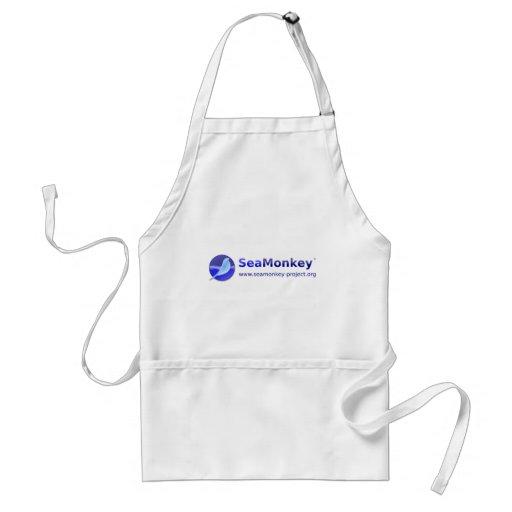 SeaMonkey Project - Horizontal Logo Apron