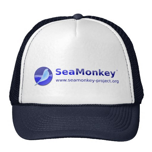 SeaMonkey Project - Horizontal Logo Hat