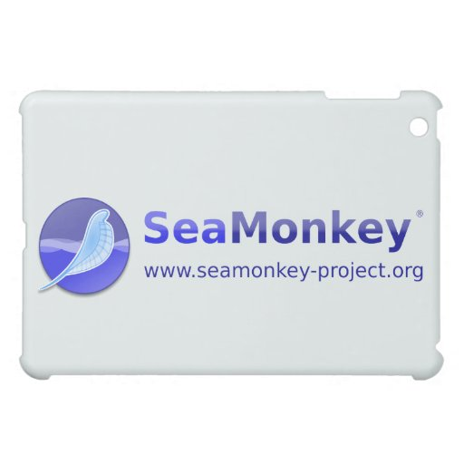 SeaMonkey Project - Horizontal Logo iPad Mini Cases