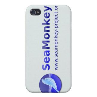 SeaMonkey Project - Horizontal Logo iPhone 4 Cover