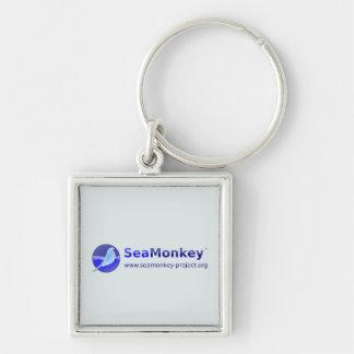 SeaMonkey Project - Horizontal Logo Keychains