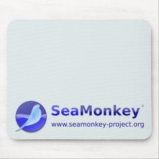 SeaMonkey Project - Horizontal Logo Mouse Pads