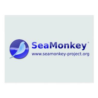SeaMonkey Project - Horizontal Logo Postcard