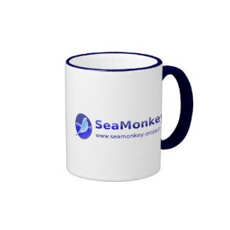 SeaMonkey Project - Horizontal Logo Ringer Mug
