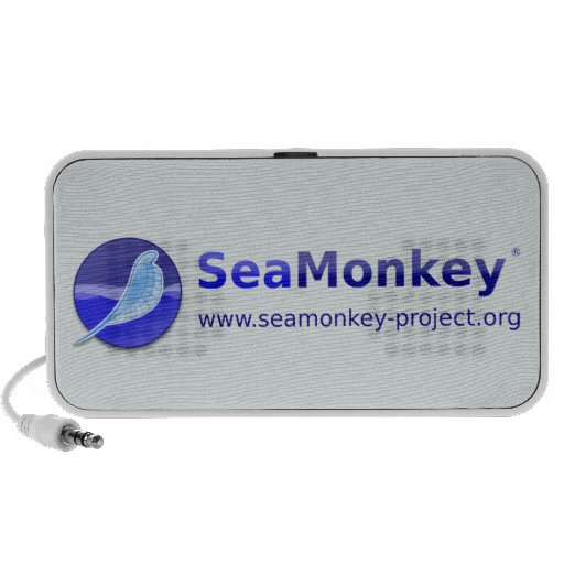 SeaMonkey Project - Horizontal Logo Notebook Speaker