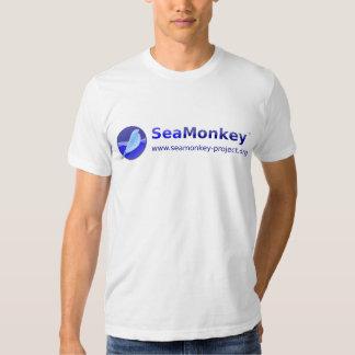 SeaMonkey Project - Horizontal Logo Tee Shirts
