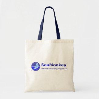 SeaMonkey Project - Horizontal Logo Budget Tote Bag