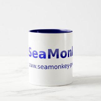 SeaMonkey Project - Horizontal Logo Two-Tone Mug