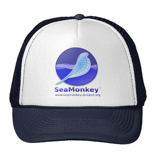 SeaMonkey Project - Vertical Logo Hats