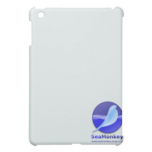 SeaMonkey Project - Vertical Logo Case For The iPad Mini