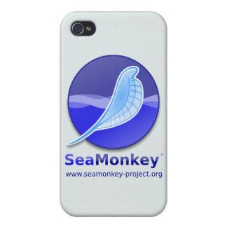 SeaMonkey Project - Vertical Logo iPhone 4/4S Case