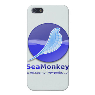 SeaMonkey Project - Vertical Logo iPhone 5 Cases