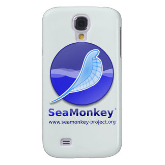 SeaMonkey Project - Vertical Logo Samsung Galaxy S4 Cases