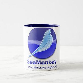 SeaMonkey Project - Vertical Logo Two-Tone Mug