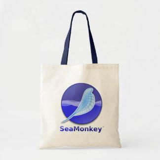SeaMonkey Text Logo Budget Tote Bag