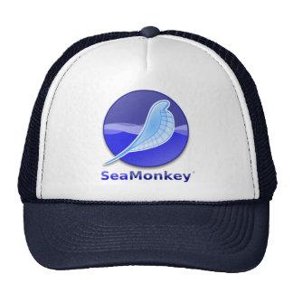 SeaMonkey Text Logo Cap