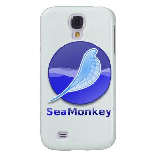 SeaMonkey Text Logo Galaxy S4 Cases