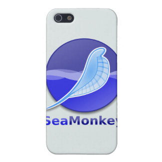 SeaMonkey Text Logo Cover For iPhone 5/5S