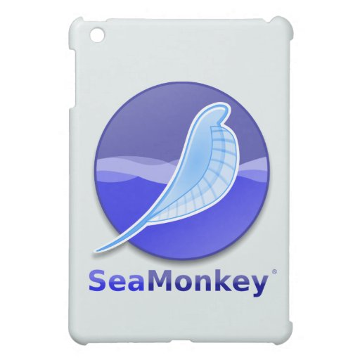 SeaMonkey Text Logo iPad Mini Cover