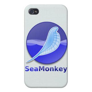 SeaMonkey Text Logo iPhone 4 Case