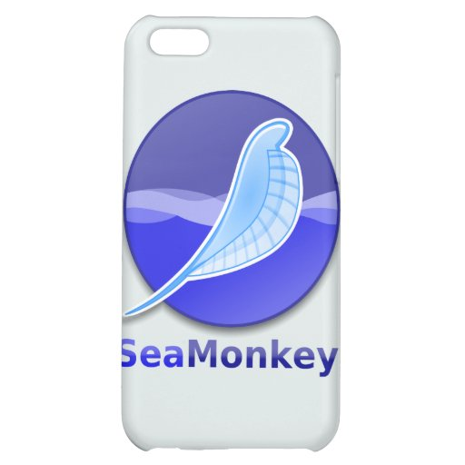 SeaMonkey Text Logo Case For iPhone 5C