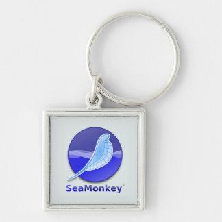SeaMonkey Text Logo Keychain