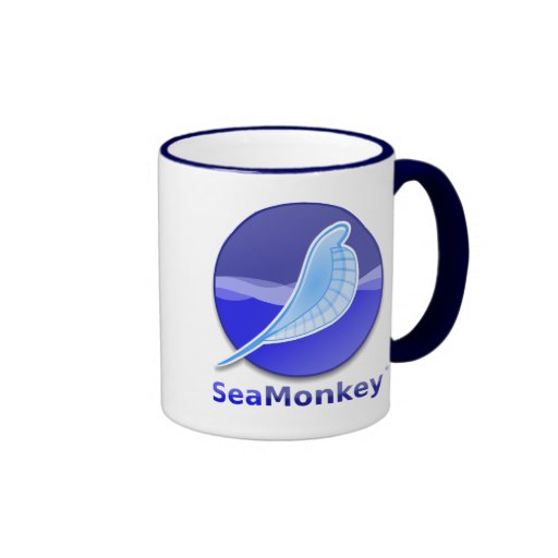 SeaMonkey Text Logo Coffee Mug