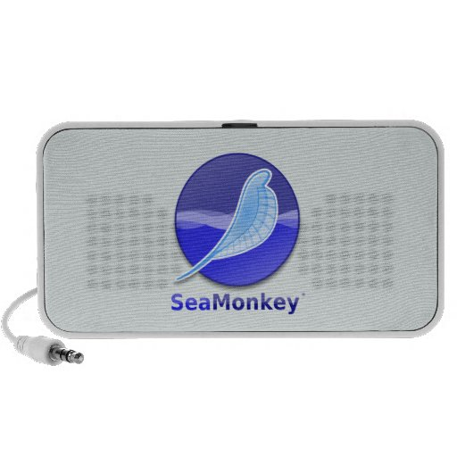 SeaMonkey Text Logo iPod Speaker