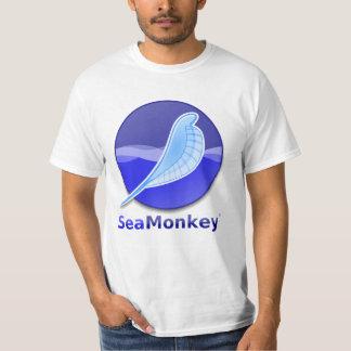 SeaMonkey Text Logo T Shirt