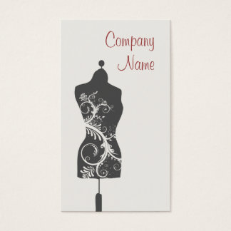 Seamstress Mannequin Business Card