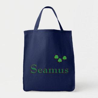 Seamus Irish Name Tote Bag